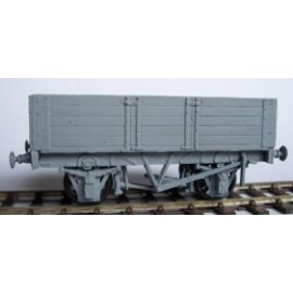 12ton 5 planks Fixed End Wagon (16' Glos. 1907 type) OO plastic kit
