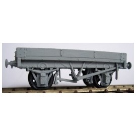 10ton 1 plank Fixed End Wagon