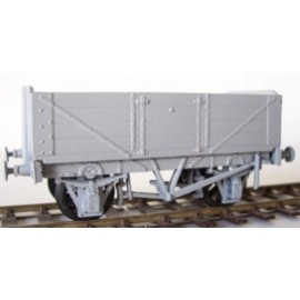 4 planks Raised End Wagon