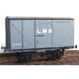 LMS 12ton Wood-bodied Van 9' (D1664)