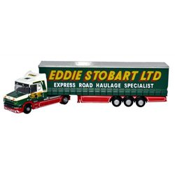 T Cab Curtainside Stobart