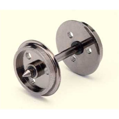 Disc Wheels(3 Hole)/Axles (10 Sets)