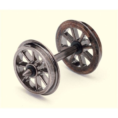 Spoked Wheel/Axles (10 Sets)
