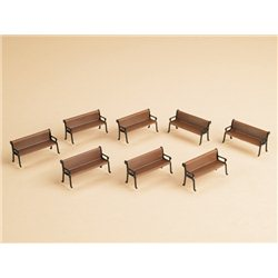 HO 8 Benches