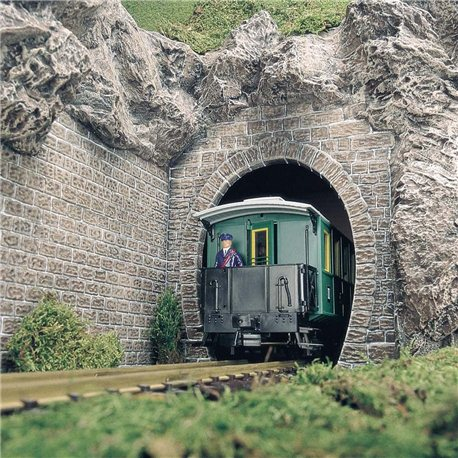 G scale tunnel portals