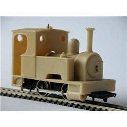 7mm NG 'ECHO' Large boiler side tank locomotive body kit