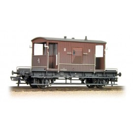 20 Ton Brake Van BR Bauxite (Late) weathered