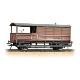 20 Ton Toad Brake Van BR Bauxite Weathered