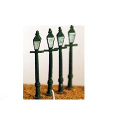4 square Gas/electric lamps