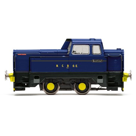 Sentinel Shunter In NCB Blue Livery