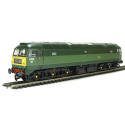 Class 47/0 D1572 in BR two tone green