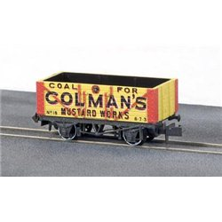 Colemans Mustard Works 7 plank private owner wagon
