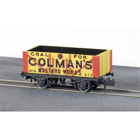 DISC***Colemans Mustard Works 7 plank private owner wagon