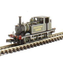 Terrier Tank locomotive 0-6-0T 2659 in Southern lined green
