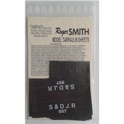 Pre-Group Wagon Tarpaulin Sheets – S & D Jnt Rly. 4mm