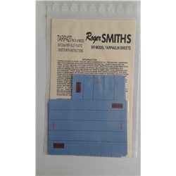 BR (Blue,Post1967) Model WagonSheets 4mm