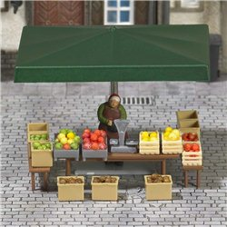 Stall With Fruits & Vegetables