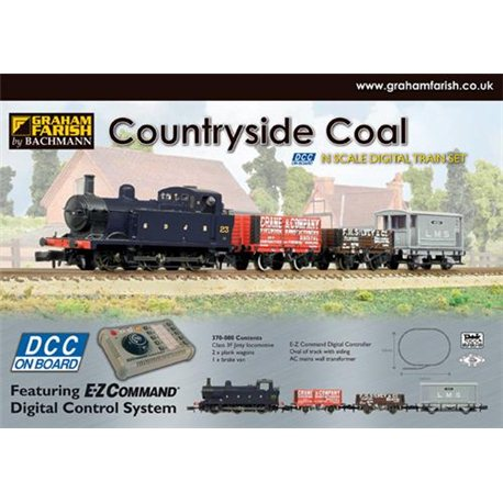 Countryside Coal Digital Starter Set (DCC-Fitted)