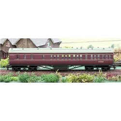 57ft Stanier Coach BR Maroon Brake Lined