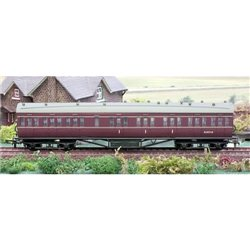 57ft Stanier BR Maroon Composite Lined