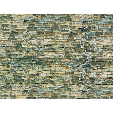 N Embossed card natural stone wall sheet 250x125mm