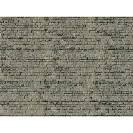 N Embossed card natural stone sheet 250x125mm