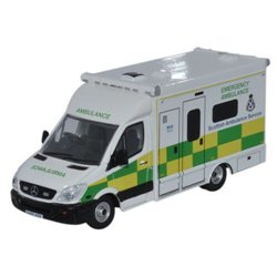 Mercedes Ambulance Scottish Ambulance