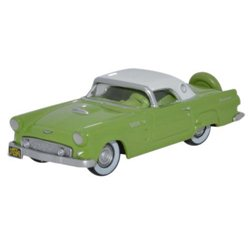 Ford Thunderbird 1956 Sage Green_Colonial White