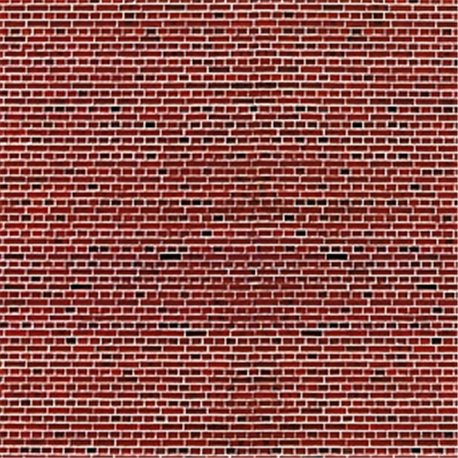 HO Red Stone embossed card sheet 250x125mm