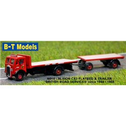 Albion CX3 F/Bed & Trailer - BRS