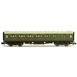 Maunsell Coach First Class Maunsell Lined Green 7671