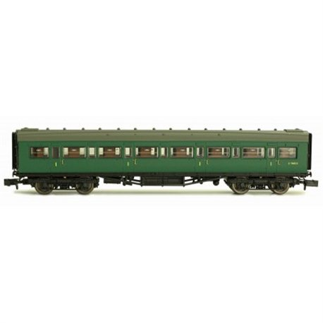 Maunsell Coach First Class BR Southern Region Green 7665