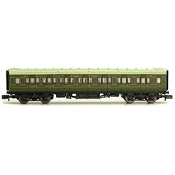 Maunsell Coach Composite Maunsell Lined Green 5138