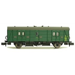 Maunsell Coach BR Brake Van SR Green 406