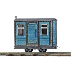 Guards wagon Blue