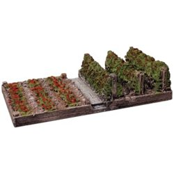 Raised Soft Fruit Plot