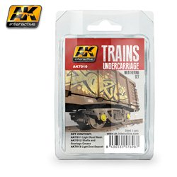Trains Undercarriage Weathering Set