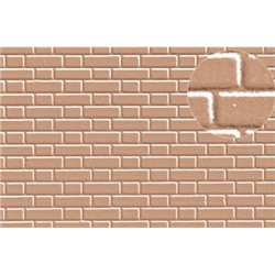 Plastic sheet 7mm Grey Brick Flemish Bond