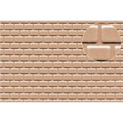 Plastic sheet pantile roof tile