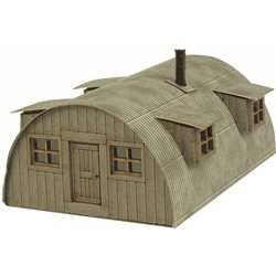 N Gauge Nissen Hut