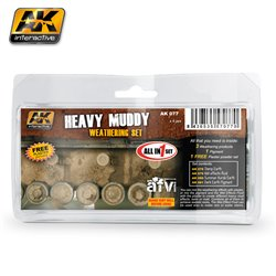 AK Interactive - Heavy Muddy Set