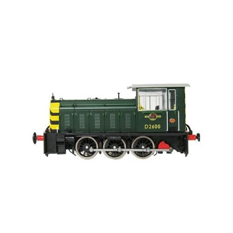 Class 05 Shunter D2600 BR Green Wasp Stripes