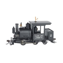 Porter 0-4-2 Steamer Clear Lake Lumber Co. 2 with DCC SOUND on Board