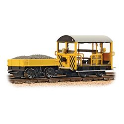 Wickham Type 27 Trolley Car BR Engineers Yellow Wasp Stripes
