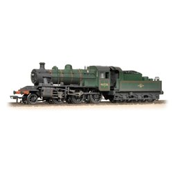 Ivatt Class 2MT 2-6-0 46526 BR Lined Green L/Crest Weathered