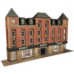 N Gauge Low Relief Department Store