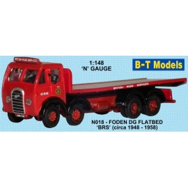 Foden DG 4 Axle Flatbed - British Road Services