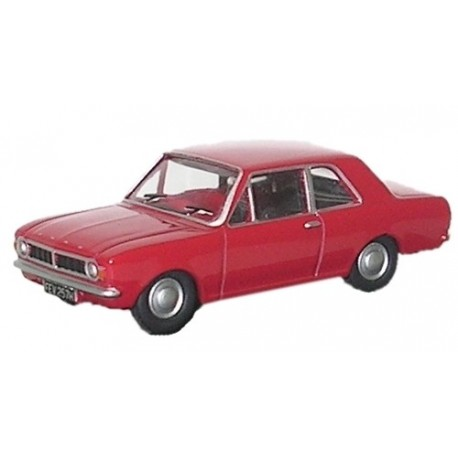 Ford Cortina MK2 Red