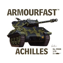 Achilles Tank Destroyer (x2) 1/72 plastic kit (UK)