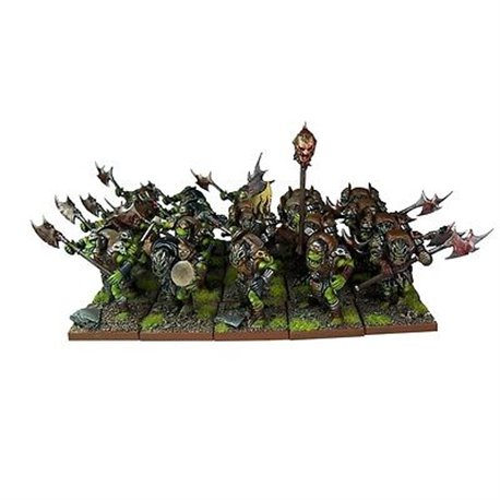 Kings of War Orc Greatax Regiment